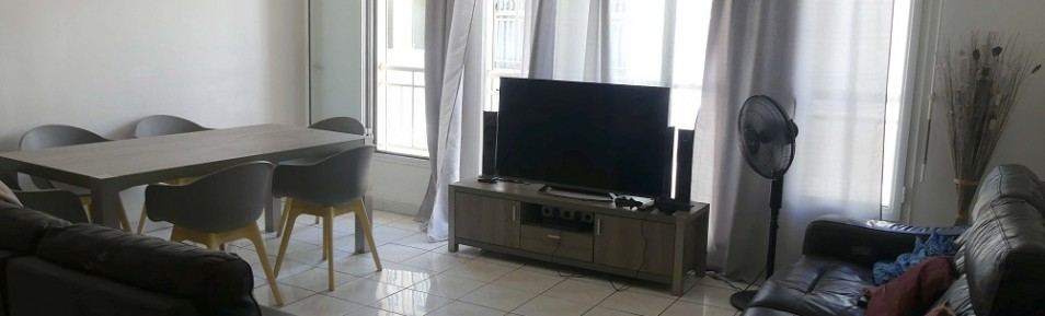 Appartement T/3 Hyper centre Saint-Pierre